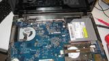 Das Innere eines Laptops